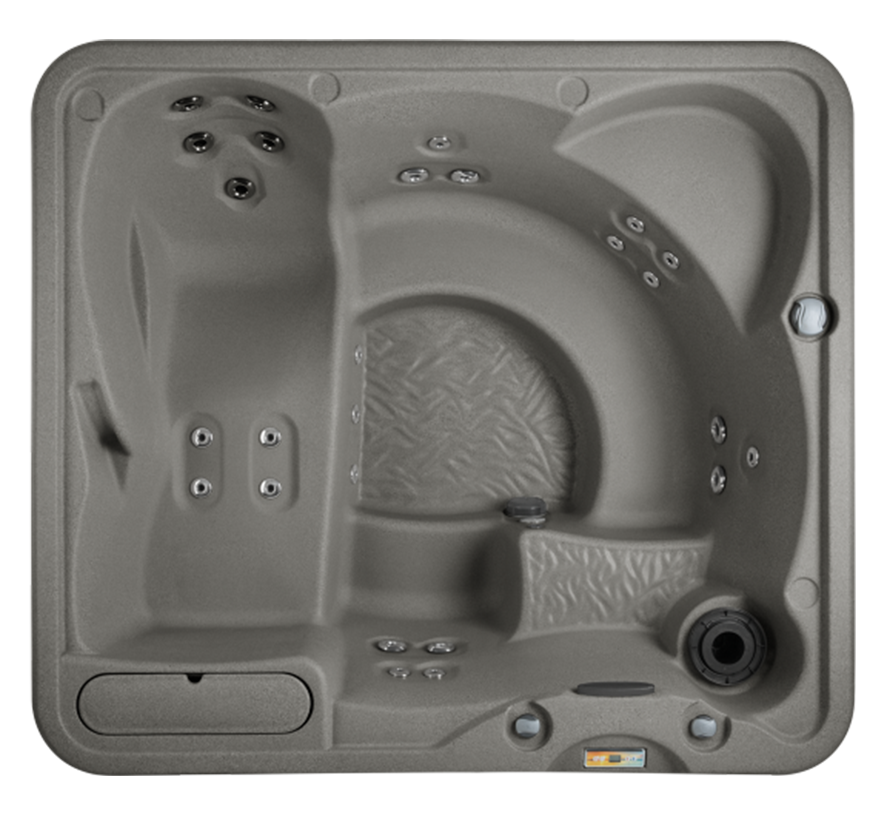 Fantasy Spa Plug N Play Entice model overhead view