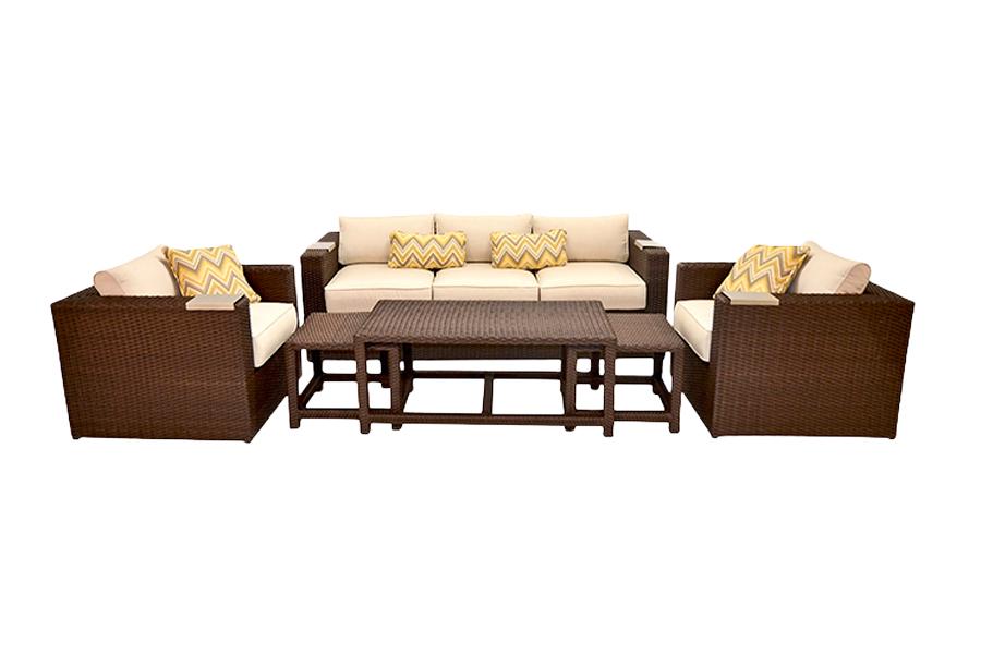 Lako Deep Seating Patio Furniture Set