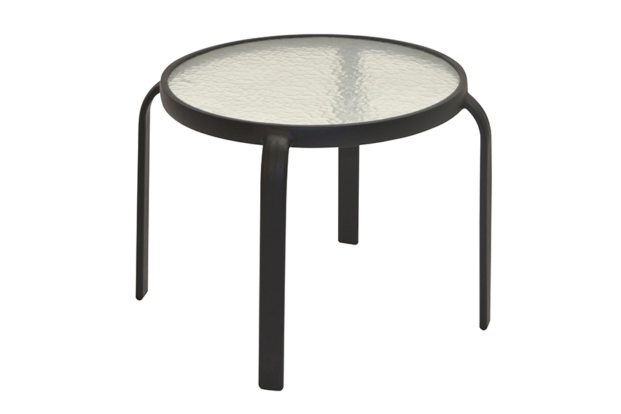 "San Andres 20"" Glass Side Table"