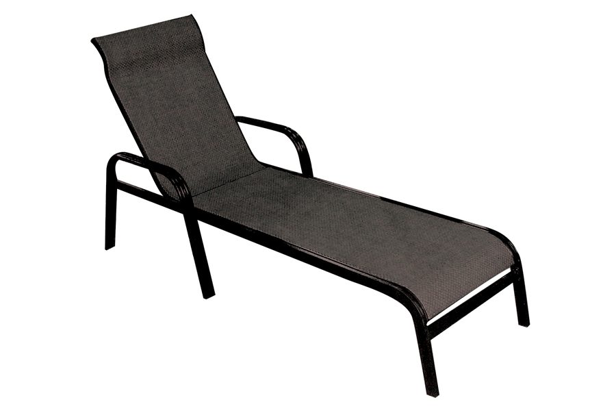 San Andres Black Chaise Lounge