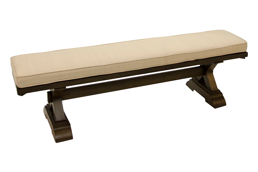 "St. Lucia 14"" x 68"" Rectangular Bench"