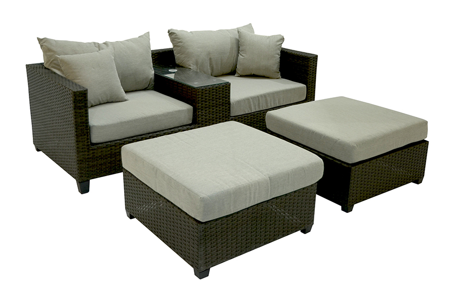 Virginia Deep Seating Patio Furniture Set