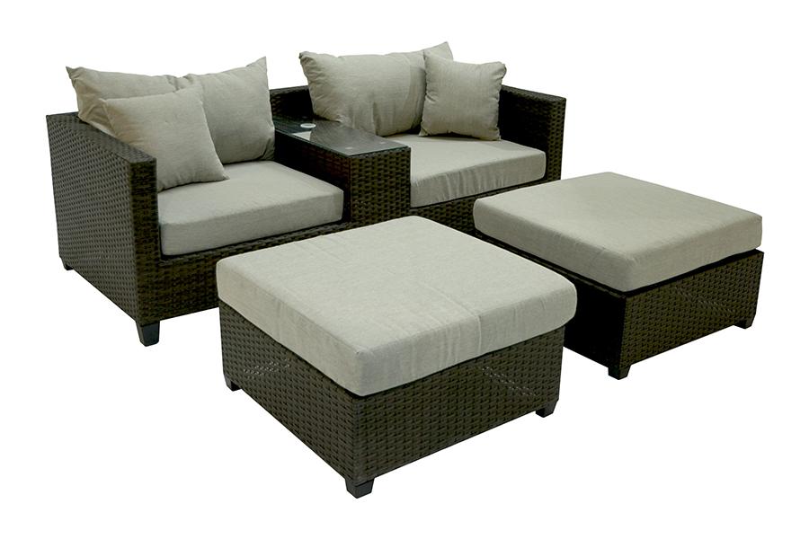 Virginia Deep Seating Patio Furniture Set