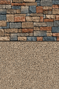 GLI Diamond Bordered Liner Sedona With Sand Gunite