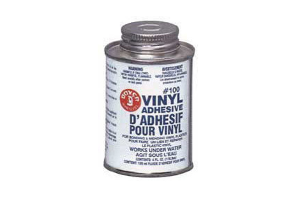 100 Vinyl Repair Adhesive 4 Oz. 104