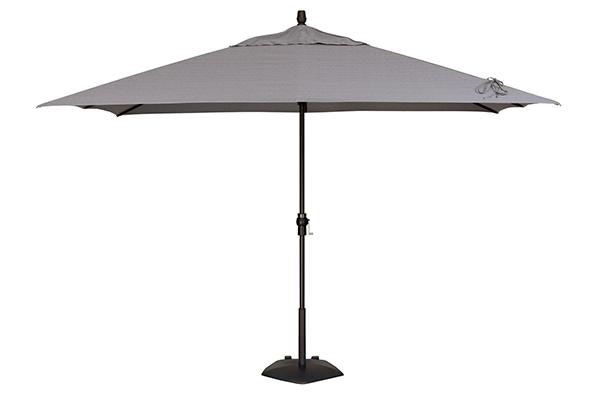 Treasure Garden 8' x 10' Rectangular Market Umbrella