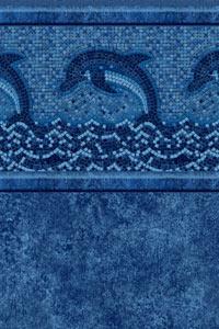 Dolphin Mosaic With Avalino