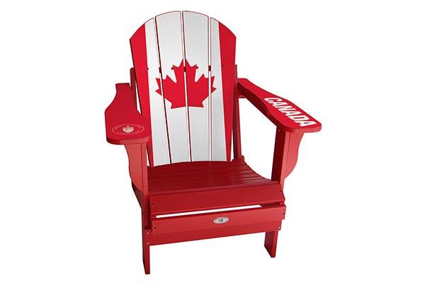 Canada Flag Sports Chair