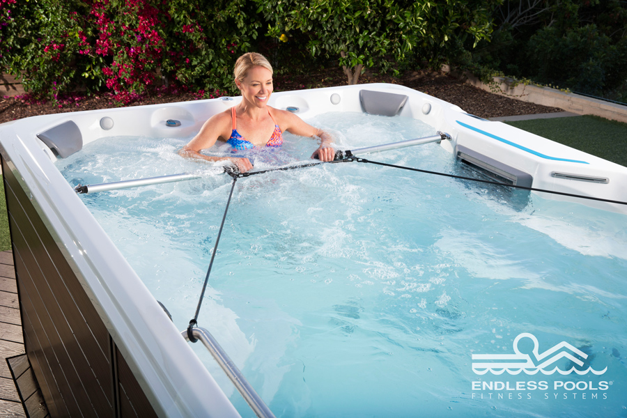 X200 Endless Pools Swimcross System - Boldt Pools and Spa - Gallery