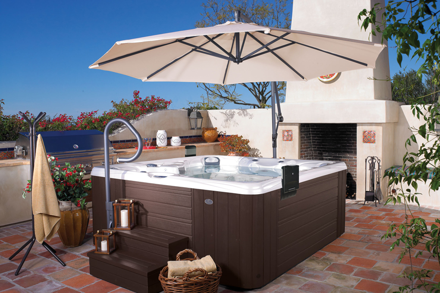 Caldera Paradise Salina 7 Person Hot Tub - Gallery