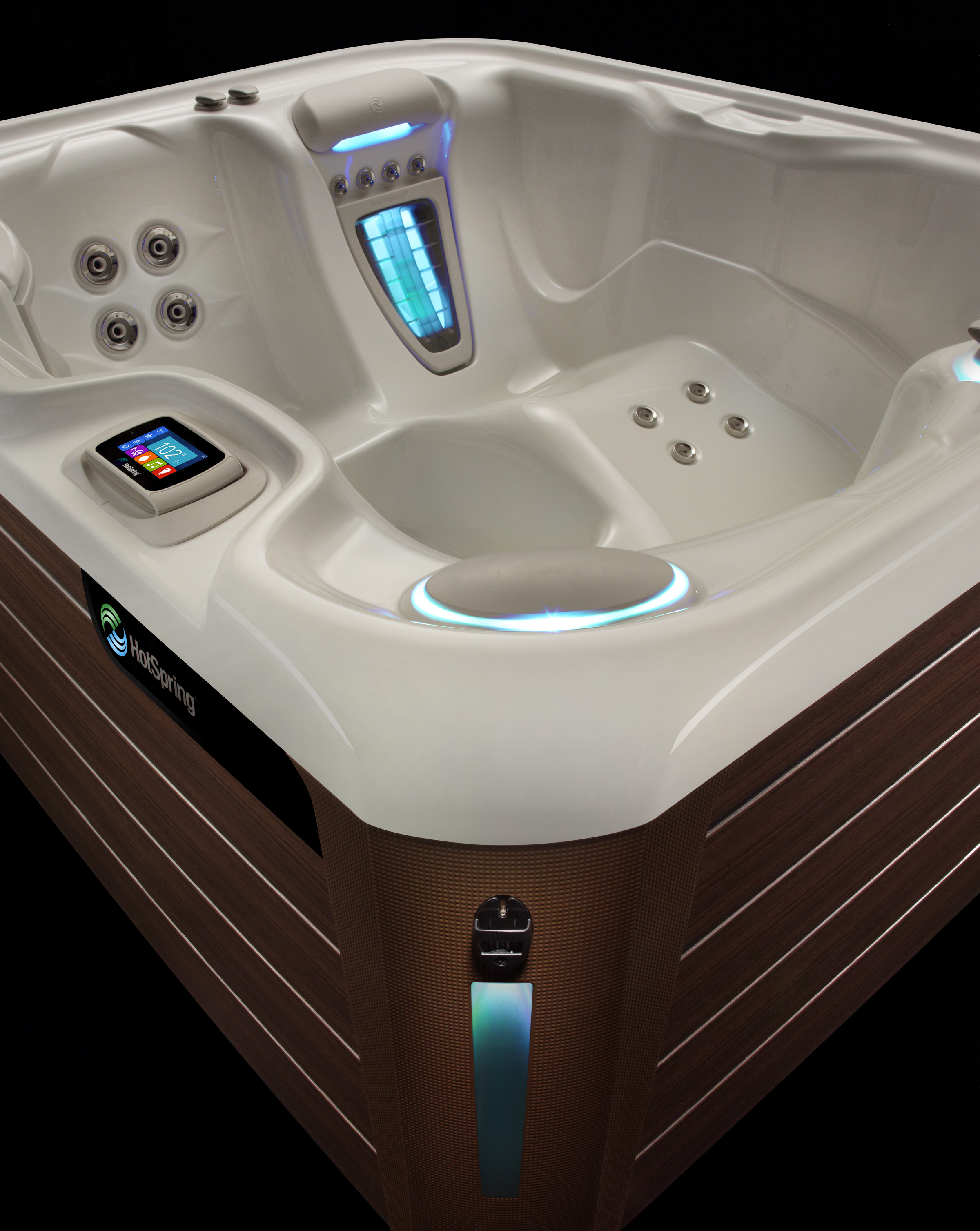 Hot Spring Highlife Jetsetter NXT 3 Person Hot Tub - Gallery