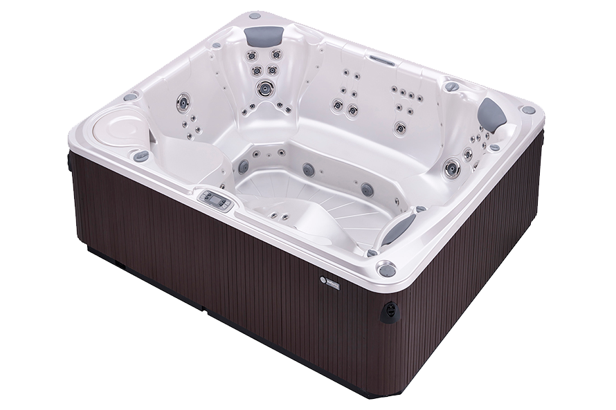 Hot Spring Limelight Gleam 8 Person Hot Tub