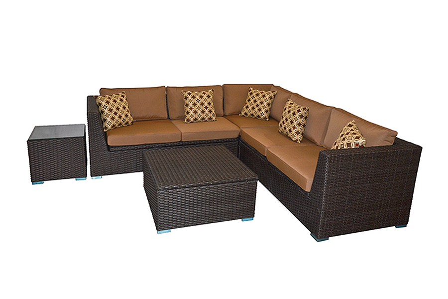 Brantwood Sectional Patio Set