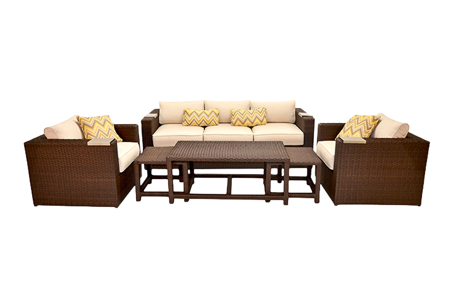 Lako Deep Seating Patio Furniture Set