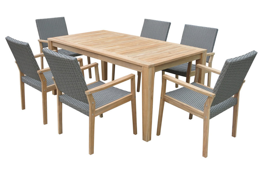 Madeira Dining Table & Chair Set