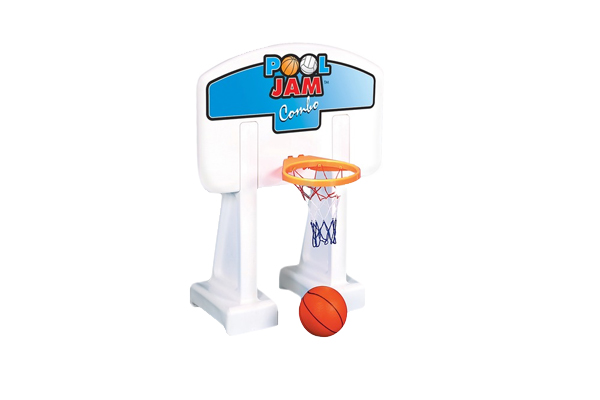 Pool Jam Molded Basketball Set