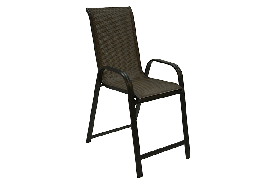Black Sling Balcony Chair