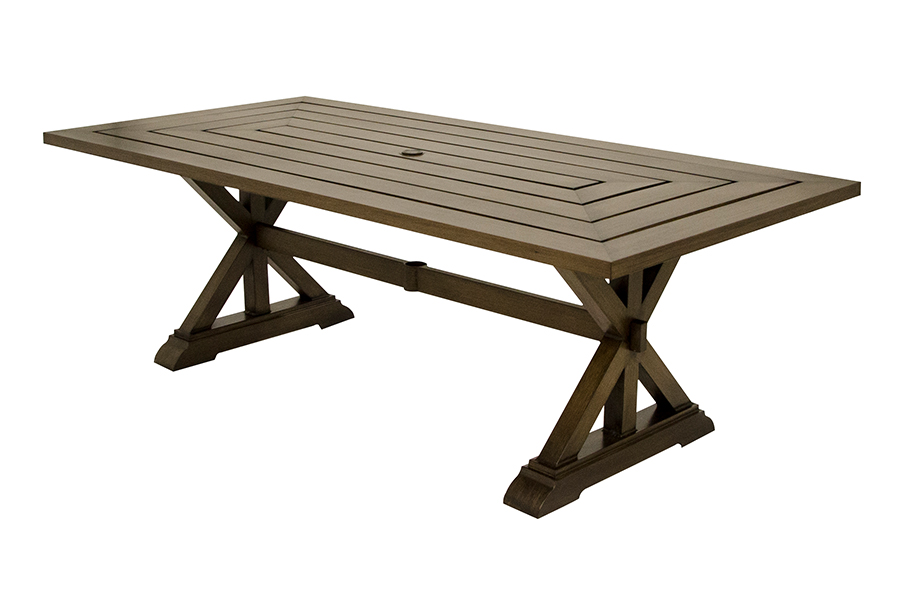 "St. Lucia 42"" x 87"" Rectangular Dining Table"