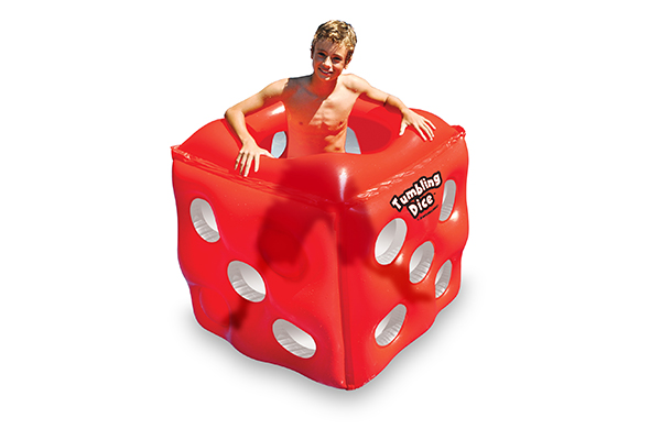 "Swimline 42"" Tumbling Dice Pool Float 90733"