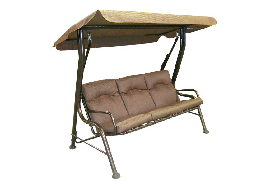 Three Seat Steel Swing
