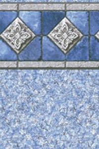 Latham Diamond Bordered Liner Capri With Fresco II