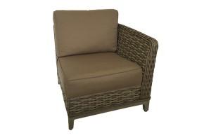 Catalina Brown Sofa Left Corner 971231L