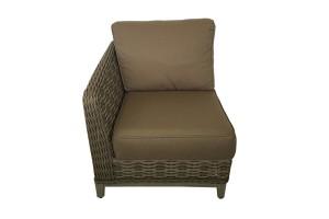 Catalina Brown Sofa Right Corner 971231R