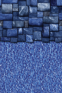 Blue Slate With Streamstone