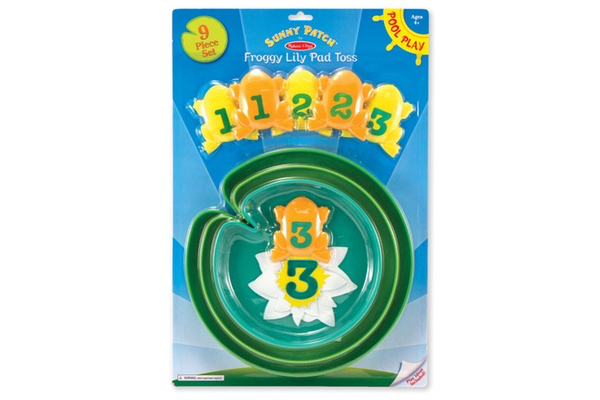 Melissa and Doug Froggy Lily Pad Toss 6665