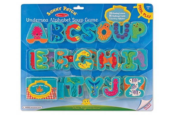 Melissa and Doug Undersea Alphabet Soup Game 6668