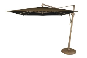 Treasure Garden 10' x 13' Rectangular Suspension Umbrella AKZRT