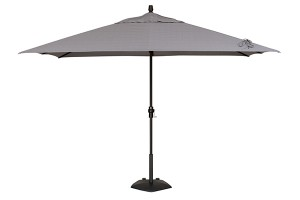 Treasure Garden 8' x 10' Rectangular Market Umbrella