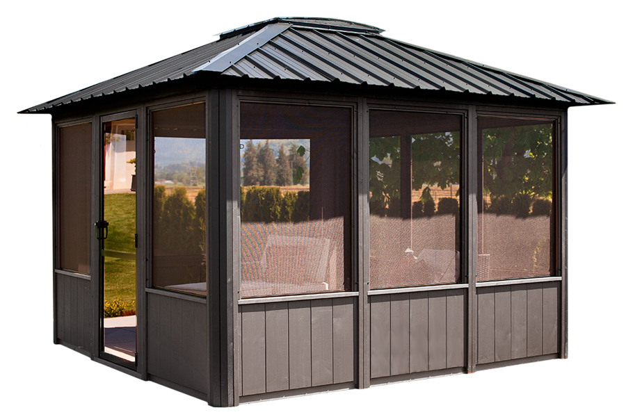 Visscher Jasper Enclosed Gazebo