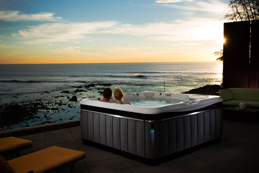 2016 Caldera Utopia Tahitian Hot Tub - Boldt Pools and Spa - Gallery
