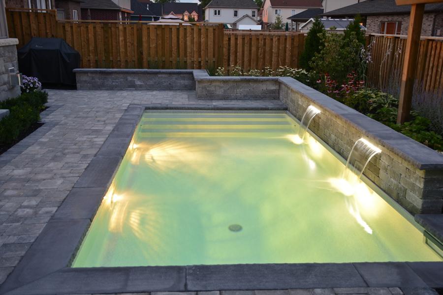 The Bobinskis Inground Pool Boldt Pools Amp Spas