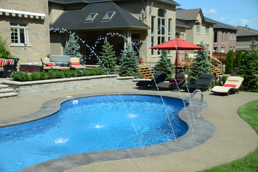 The Stevens Inground Pool Boldt Pools Amp Spas