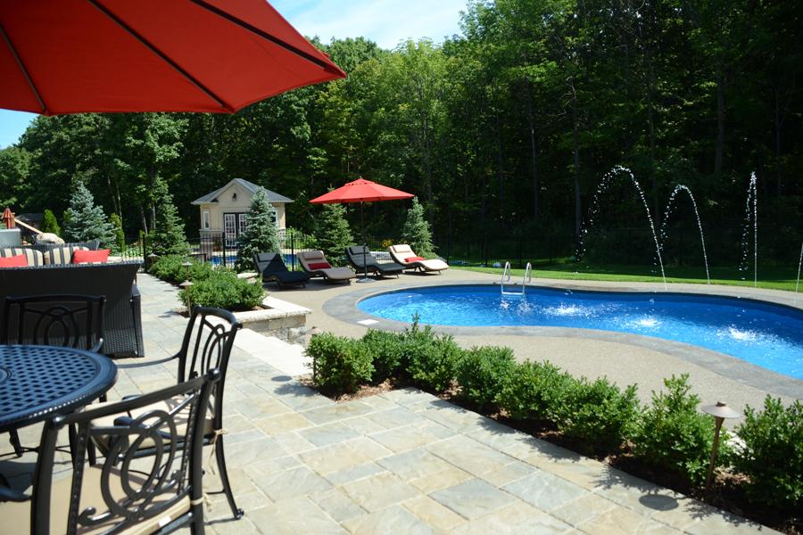 The Stevens Inground Pool Boldt Pools Amp Spas
