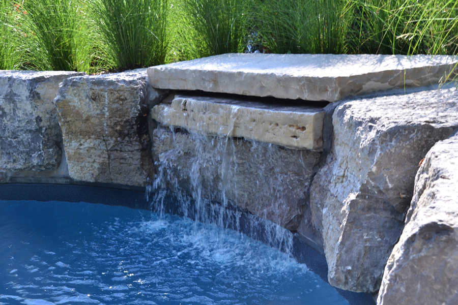 The Caughills Inground Pool Boldt Pools Amp Spas