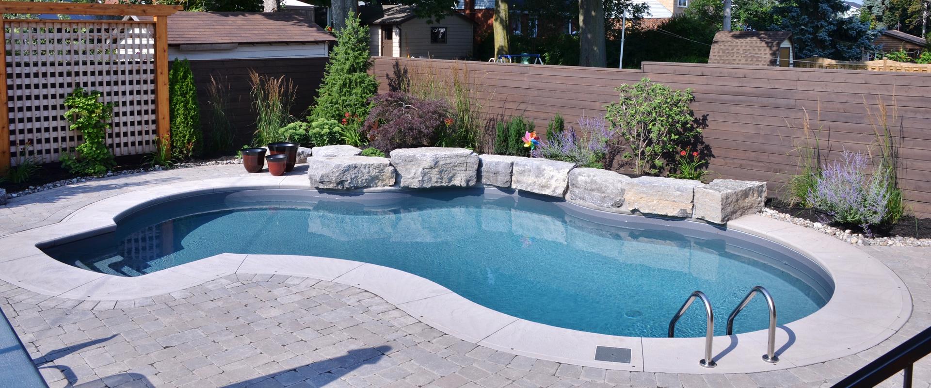 Cushings Inground Pool Banner