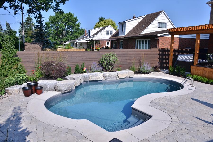 The Cushings Inground Pool Boldt Pools Amp Spas