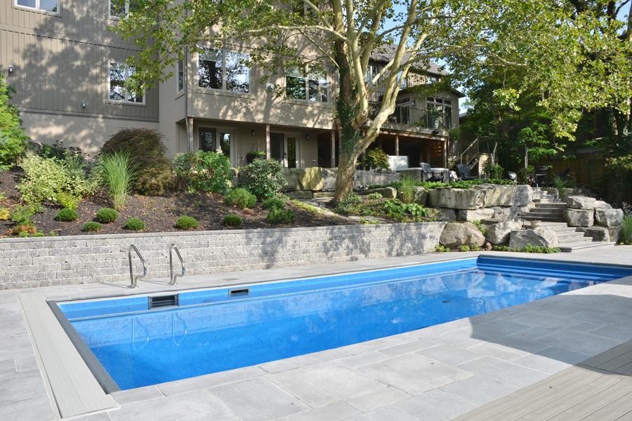 The Jones Inground Pool Boldt Pools Amp Spas