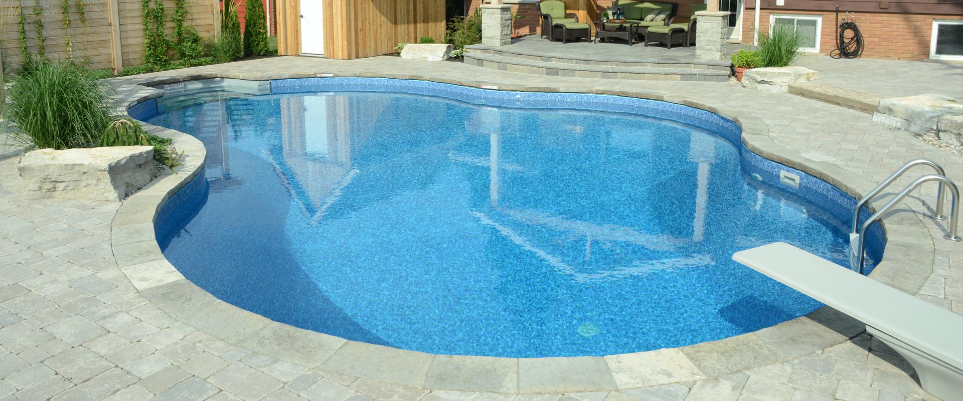 The Vangelders Inground Pool Boldt Pools Amp Spas