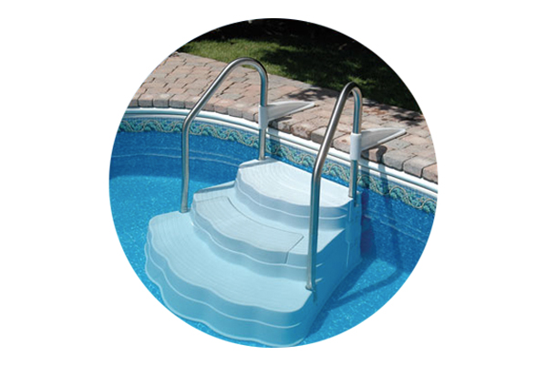 Oasis Inground Drop In Step Boldt Pools And Spa