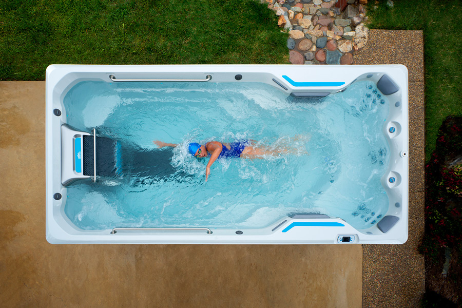 E500 Endless Pools Fitness System - Boldt Pools and Spa - Gallery