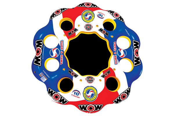 WOW Tube A Rama 10 Person Float 122040