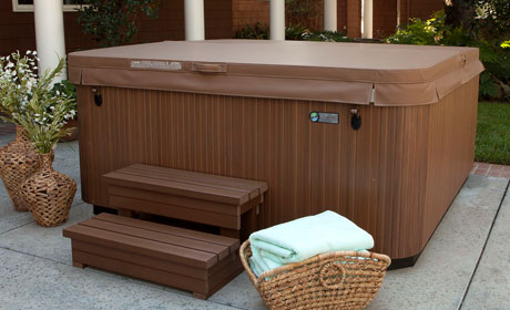 Stock Hot Tub Cover