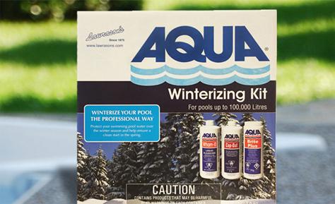 Aqua winterizing kit