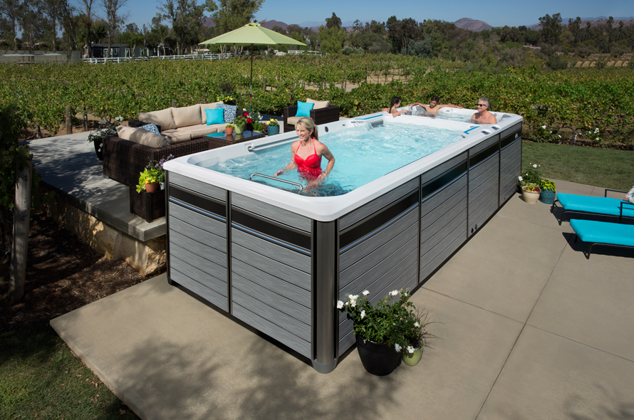 E2000 Dual Temperature Fitness System - Boldt Pools and Spa - Gallery