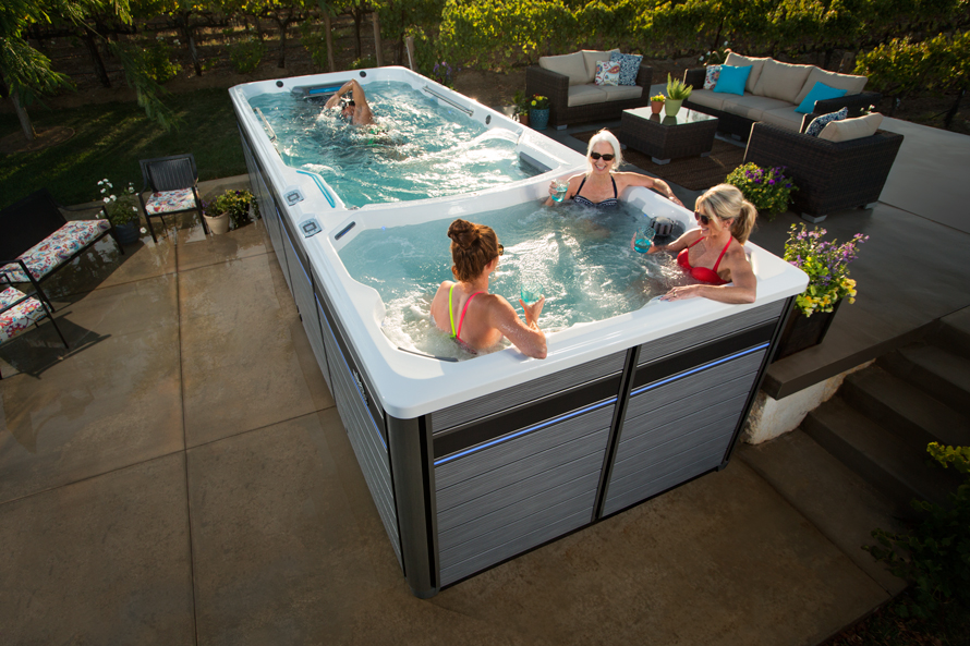 E2000 Dual Temperature Fitness System - Boldt Pools & Spas - Gallery