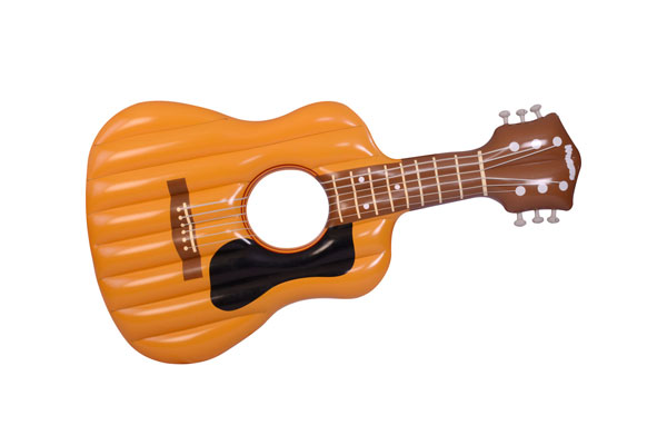 inflatable classical guitar pool float